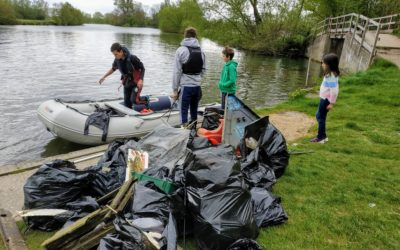 The Thames River Clean Up Sonning to Shiplake 2019