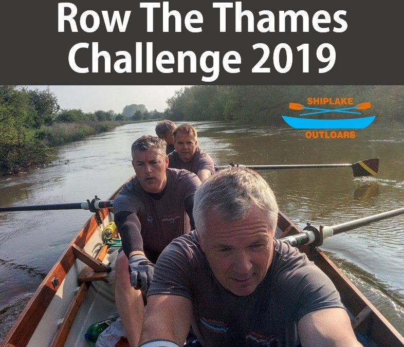 Row The Thames Challenge 2019
